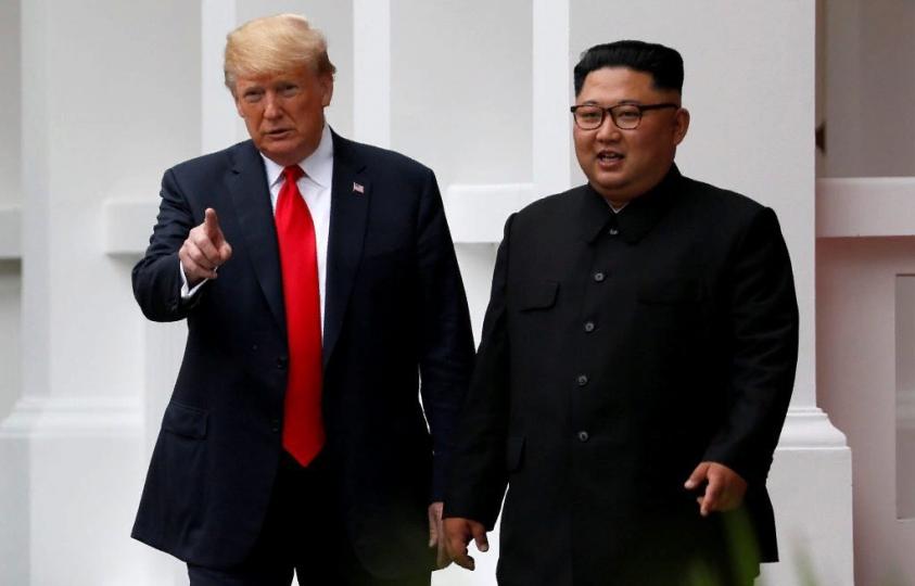 Трамп призвал Ким Чен Ына отдать Штатам своё ядерное оружие и топливо для бомб