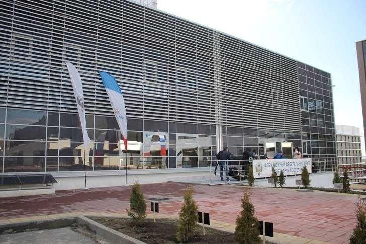 В Кисловодске Ставропольского края открылся ледовый дворец спорта