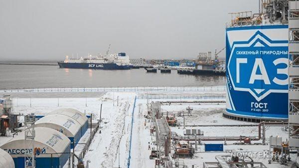 Россия опередила США по поставкам сжиженного природного газа в Европу и Азию