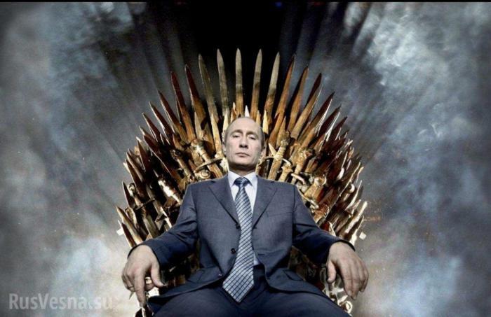 На украинских выборах уверенно победил Владимир Путин?