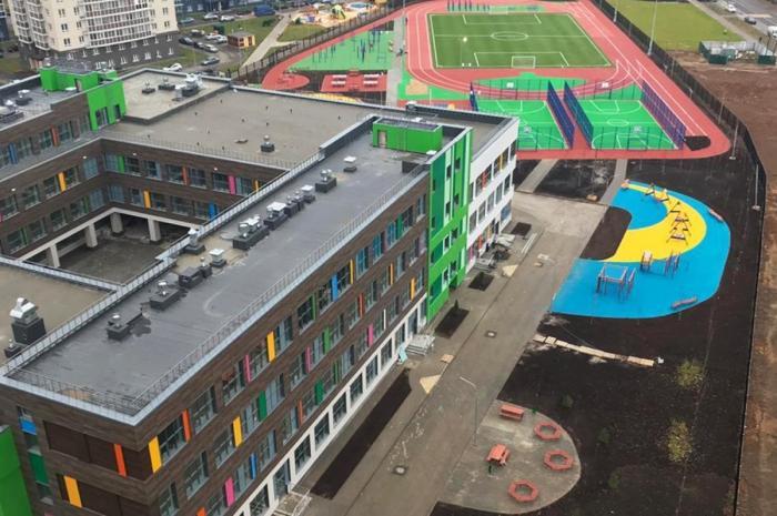 Школу на600 учеников ввели вНовой Москве