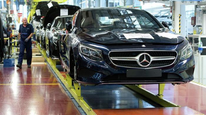 Владимир Путин примет участие в церемонии открытия завода Mercedes в Подмосковье
