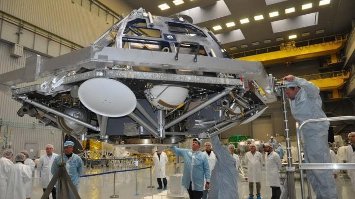 Российский посадочный модуль «Казачок» для проекта «ЭкзоМарс» готовят к финальной сборке