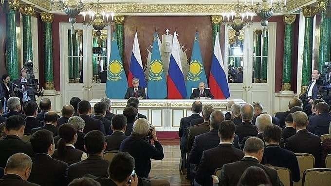 Заявления для прессы по итогам российско-казахстанских переговоров