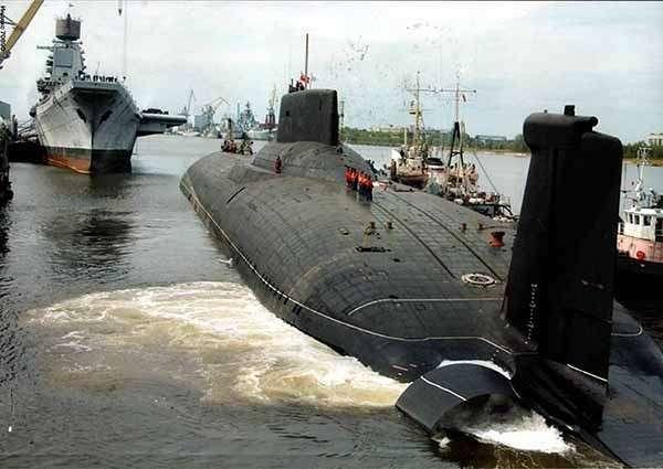 Самая длинная подводная лодка в мире создана в России практически готова
