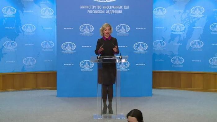 Мария Захарова провела еженедельный брифинг МИД России 04.04.2019