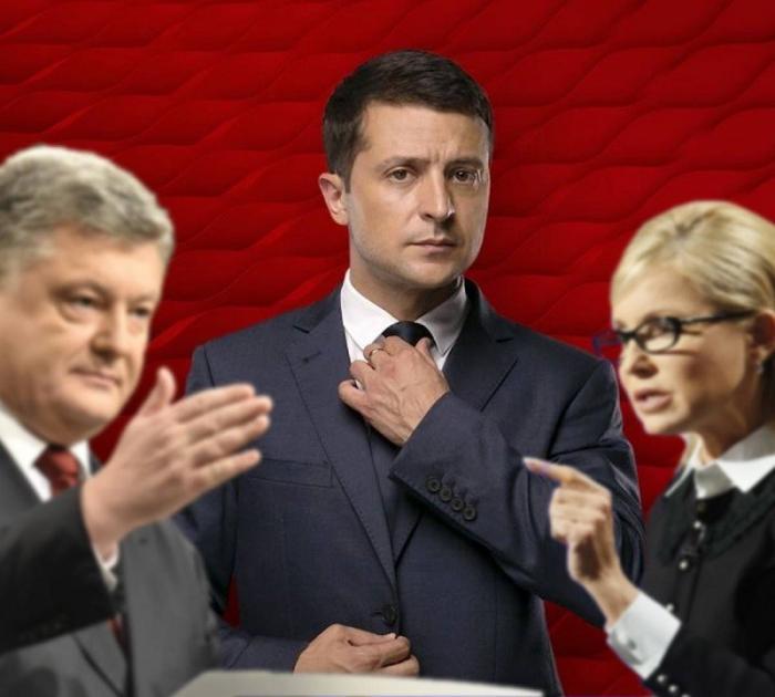 Порошенко Зеленский и Тимошенко сойдутся в дебатах на арене?