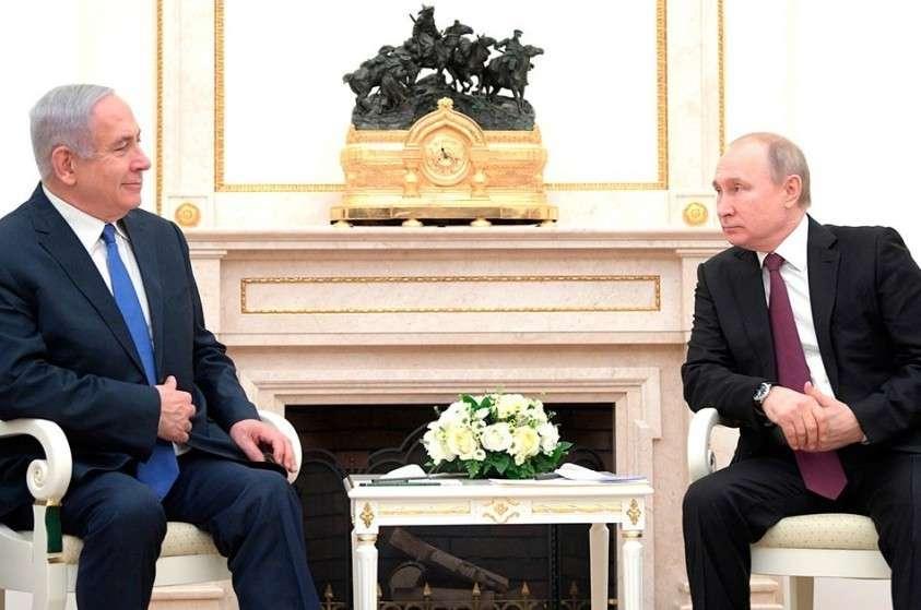 Беньямина Нетаньяху привез Владимиру Путину весточку от Дональда Трампа