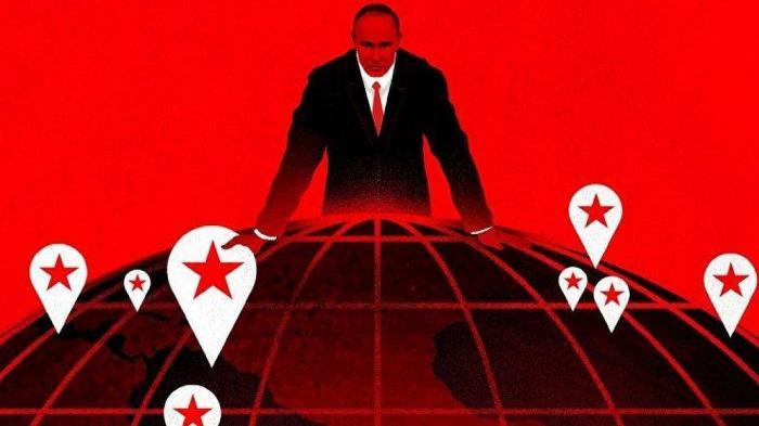 Журнал Тайм поместил на обложку инфернального Путина с земным шаром