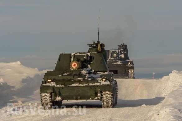 Арктика: авиация, танки и артиллерия ВМФ России показали свою силу | Русская весна