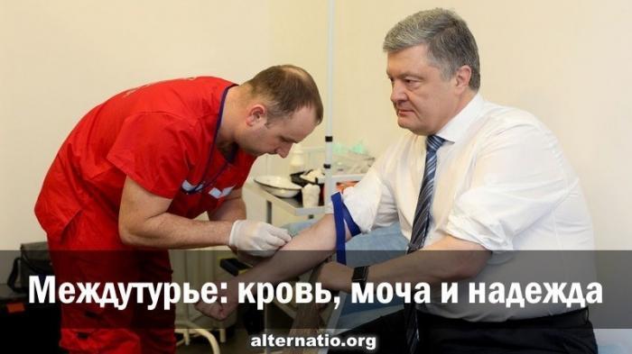 Выборы президента Украины: кровь, моча и надежда