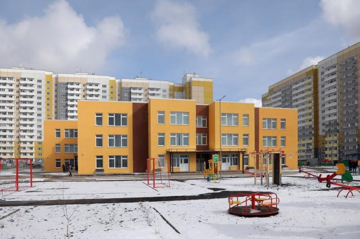 Новый детский сад открыт в микрорайоне Нанжуль-Солнечный Красноярска