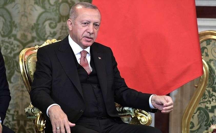 Президент Турецкой Республики Реджеп Тайип Эрдоган.