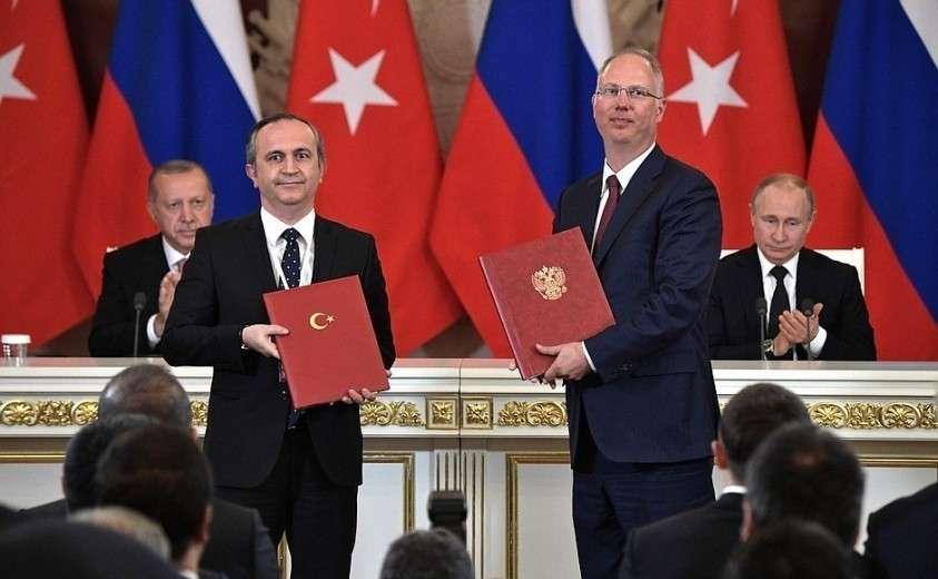 Владимир Путин и Реджеп Тайип Эрдоган подвели итоги российско-турецких переговоров