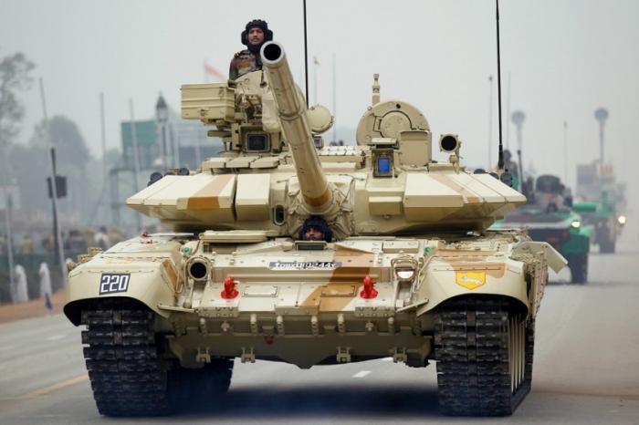 Индия закупит у России дополнительно 464 танка Т-90МС на 1,93 млрд долларов