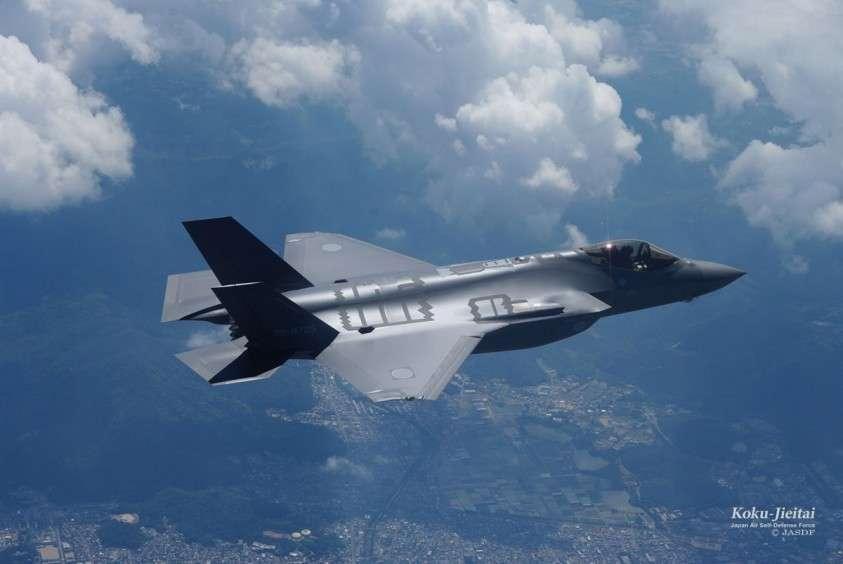 Японцы потеряли новейший истребитель пятого поколения F-35