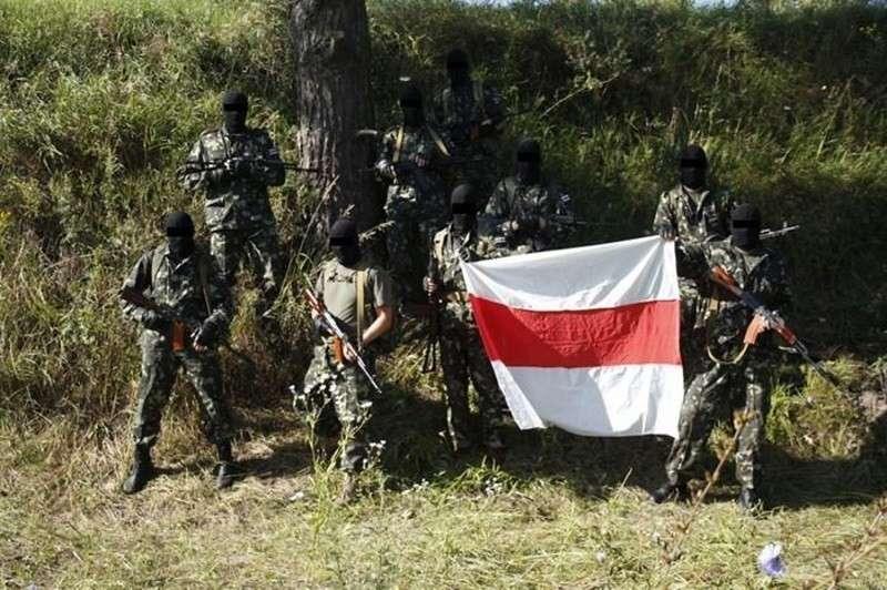Нацисты из Украины пытаются перенести Майдан в Белоруссию