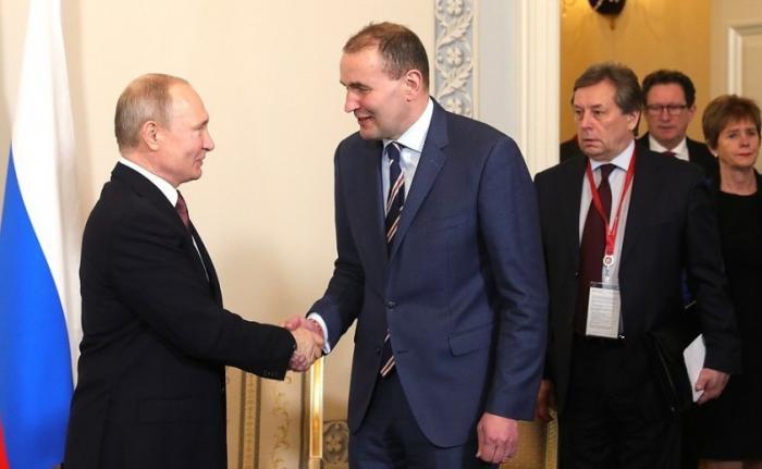 Встреча Путина спрезидентом Исландии Гудни Торлациусом Йоханнессоном