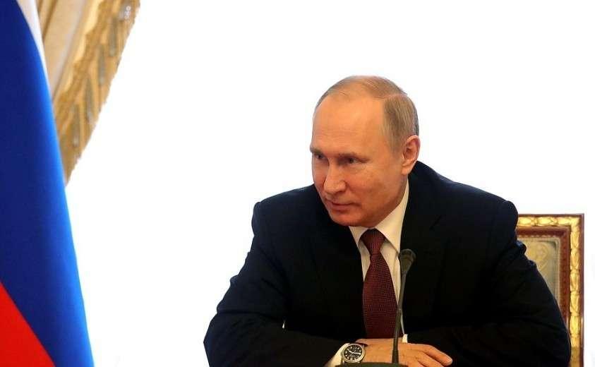 Владимир Путин обсудил тему Арктики с постоянными членами Совета Безопасности