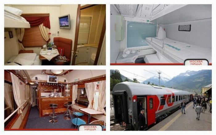 Российские поезда попали врейтинг лучших международных поездов вЕвропе