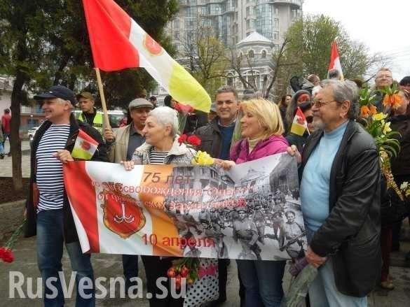 «Вон из Одессы, бандеровские бесы»: Антифашисты вышли на улицы Украины (ФОТО, ВИДЕО) | Русская весна