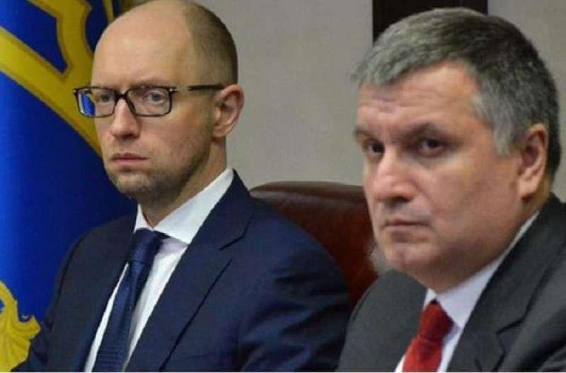 Яценюк и Аваков перешли к открытой поддерже Зеленского