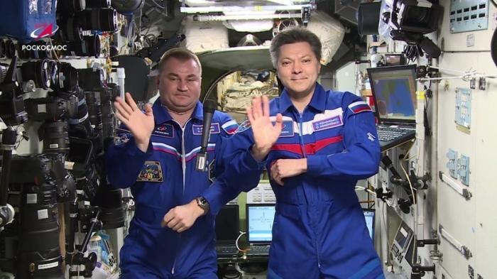 Экипаж МКС поздравил Землю с Днём космонавтики 12 апреля