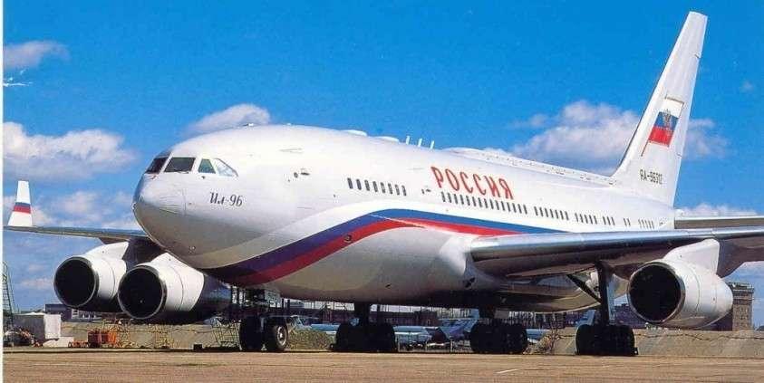Ил-96 – прерванный полёт.