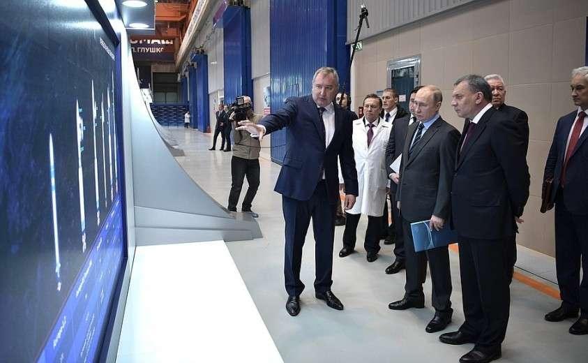 В ходе посещения научно-производственного объединения «Энергомаш».
