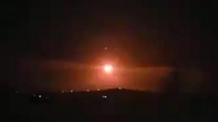 Видео перехвата ракет силами сирийской ПВО