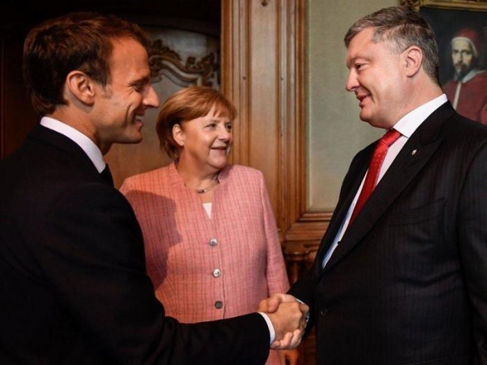 Зеленский и Порошенко провели первую пробу сил в Европе