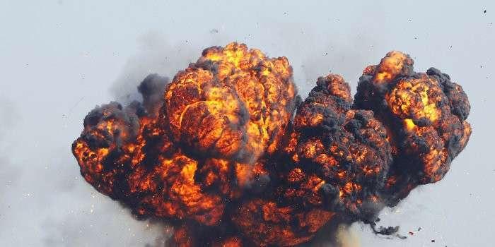 В Киевском районе Донецка прогремел мощный взрыв