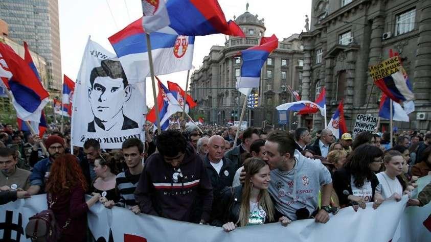 Протестующие дали властям Сербии шесть дней на выполнение своих требований