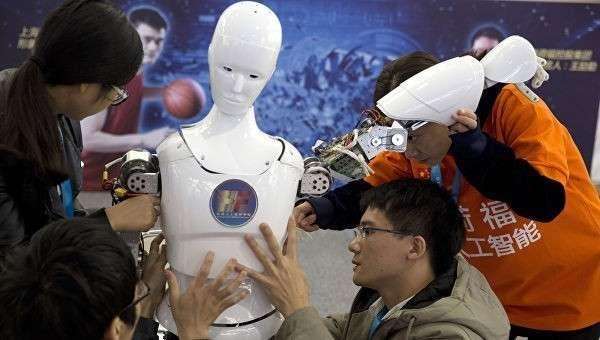 Всемирная конференция роботов  в Пекине, КНР. Архивное фото