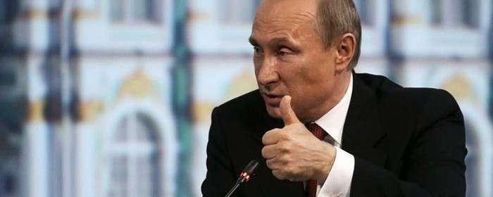 Владимир Путин завоевал приз симпатий европейцев