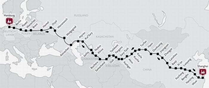 Трассу «Меридиан» Шанхай – Гамбург начнут строить в июне в Саратовской области