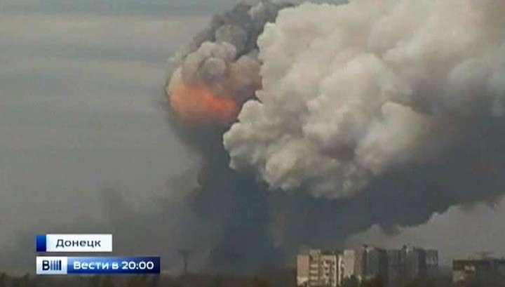 Донецк обстрелян баллистическими ракетами «Точка-У»
