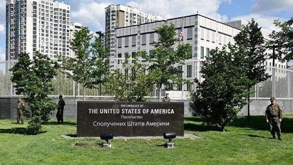 Здание посольства США в Киеве