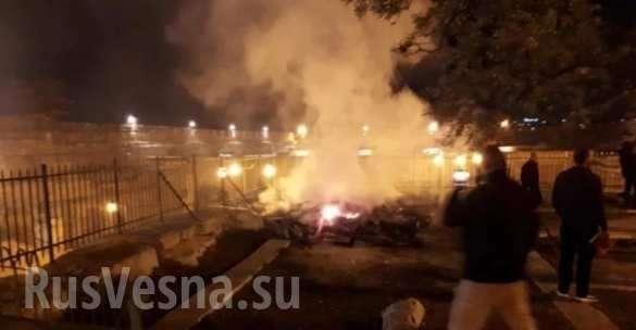 Пока полыхал Нотр-Дам в Ерусалиме подожгли мечеть Аль-Акса | Русская весна