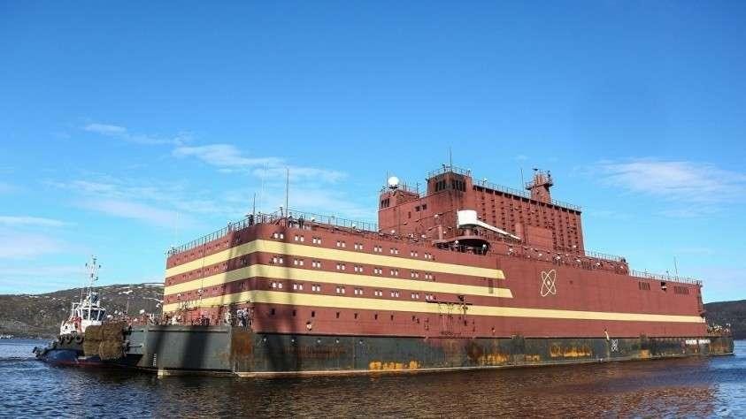 Источник сообщил о завершении испытаний плавучей АЭС