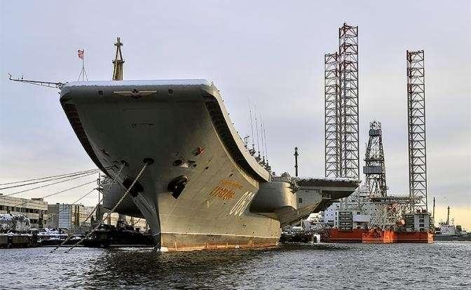 Из Адмирала Кузнецова сделают плавучую парту за 65 миллиардов рублей