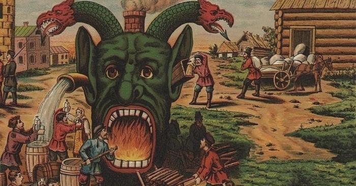 Трезвеннеческие бунты на Руси – война, которую от нас скрывали!
