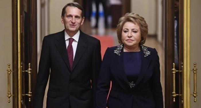Матвиенко уходит, ее может сменить глава СВР Нарышки