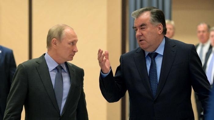 Владимир Путин и Эмомали Рахмон сделали заявление для прессы по итогам переговоров