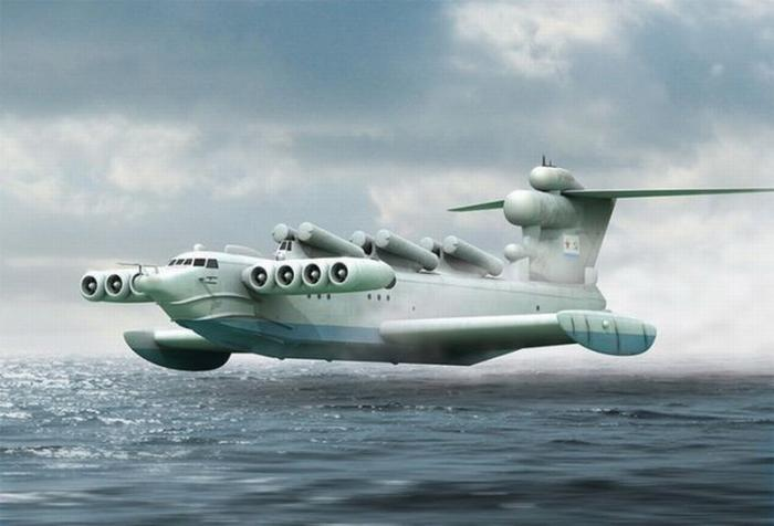 «Летающие корабли» – наследники «каспийского монстра» для российской армии