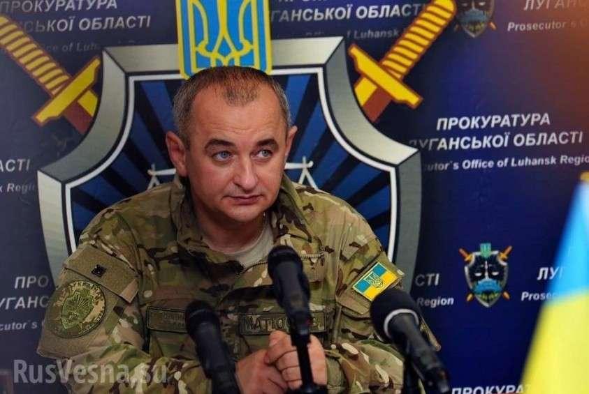 Матиос назвал причину своего побега из Украины