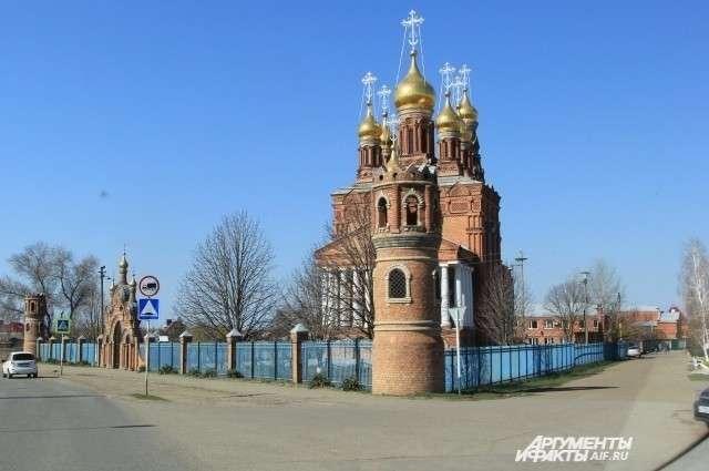 Главная достопримечательность Кущевской – Храм апостола Иоанна Богослова.