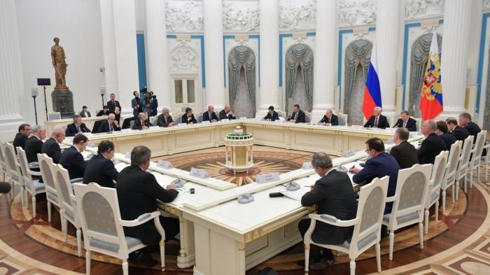 Владимир Путин встретился с топ-менеджерами крупнейших французских компаний