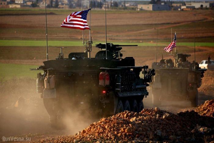 Сирия: бронетехника США потоком идёт в страну