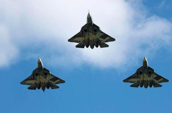 """Поставлены комплексы """"умной обшивки"""" «Гималаи» для самолетов пятого поколения  Т-50"""